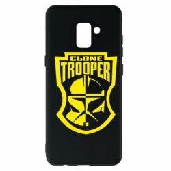 Чехол для Samsung A8+ 2018 Clone Trooper