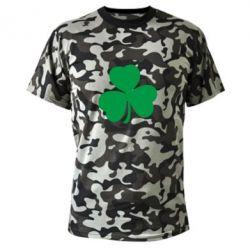 Камуфляжная футболка Clover