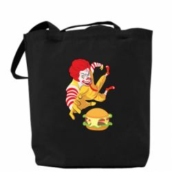 Сумка Clown in flight with a burger