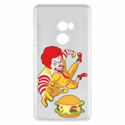 Чехол для Xiaomi Mi Mix 2 Clown in flight with a burger