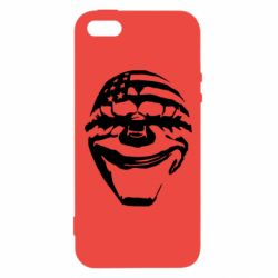 Купить PayDay, Чехол для iPhone5/5S/SE Clown mask, FatLine