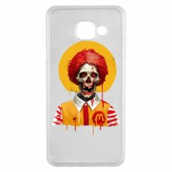 Чохол для Samsung A3 2016 Clown McDonald's skeleton