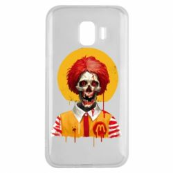 Чохол для Samsung J2 2018 Clown McDonald's skeleton