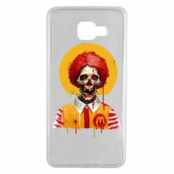 Чохол для Samsung A7 2016 Clown McDonald's skeleton