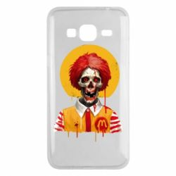 Чохол для Samsung J3 2016 Clown McDonald's skeleton
