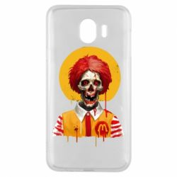 Чохол для Samsung J4 Clown McDonald's skeleton