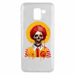 Чохол для Samsung J6 Clown McDonald's skeleton