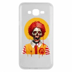 Чохол для Samsung J7 2015 Clown McDonald's skeleton