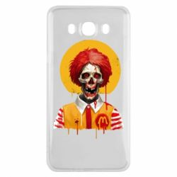 Чохол для Samsung J7 2016 Clown McDonald's skeleton