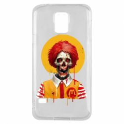 Чохол для Samsung S5 Clown McDonald's skeleton