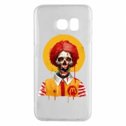 Чохол для Samsung S6 EDGE Clown McDonald's skeleton