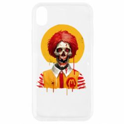 Чохол для iPhone XR Clown McDonald's skeleton