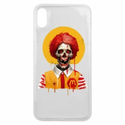 Чохол для iPhone Xs Max Clown McDonald's skeleton