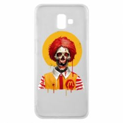 Чохол для Samsung J6 Plus 2018 Clown McDonald's skeleton