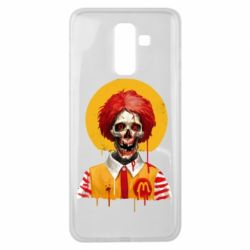 Чохол для Samsung J8 2018 Clown McDonald's skeleton