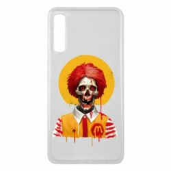 Чохол для Samsung A7 2018 Clown McDonald's skeleton