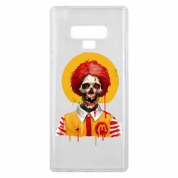 Чохол для Samsung Note 9 Clown McDonald's skeleton