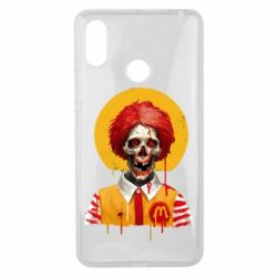 Чохол для Xiaomi Mi Max 3 Clown McDonald's skeleton