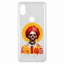 Чохол для Xiaomi Mi Mix 3 Clown McDonald's skeleton