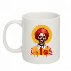 Кружка 320ml Clown McDonald's skeleton