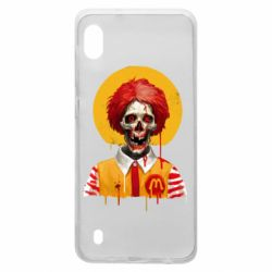 Чохол для Samsung A10 Clown McDonald's skeleton
