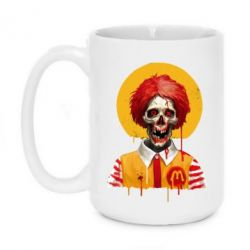 Кружка 420ml Clown McDonald's skeleton
