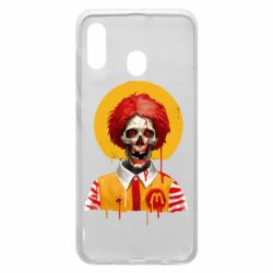 Чохол для Samsung A20 Clown McDonald's skeleton