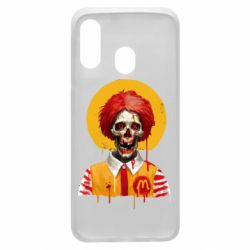 Чохол для Samsung A40 Clown McDonald's skeleton