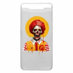 Чохол для Samsung A80 Clown McDonald's skeleton