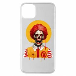Чохол для iPhone 11 Pro Max Clown McDonald's skeleton