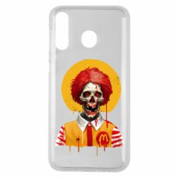 Чохол для Samsung M30 Clown McDonald's skeleton