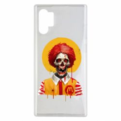 Чохол для Samsung Note 10 Plus Clown McDonald's skeleton