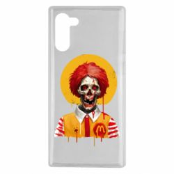Чохол для Samsung Note 10 Clown McDonald's skeleton
