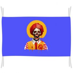 Прапор Clown McDonald's skeleton