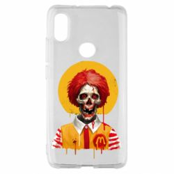 Чохол для Xiaomi Redmi S2 Clown McDonald's skeleton