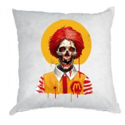 Подушка Clown McDonald's skeleton