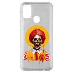 Чохол для Samsung M30s Clown McDonald's skeleton
