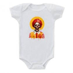 Дитячий бодік Clown McDonald's skeleton