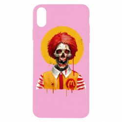 Чохол для iPhone X/Xs Clown McDonald's skeleton