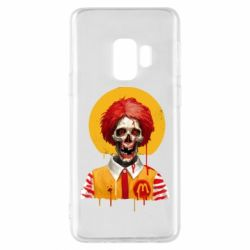 Чохол для Samsung S9 Clown McDonald's skeleton