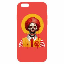 Чохол для iPhone 6/6S Clown McDonald's skeleton