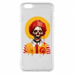 Чохол для iPhone 6 Plus/6S Plus Clown McDonald's skeleton