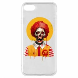 Чохол для iPhone 8 Clown McDonald's skeleton