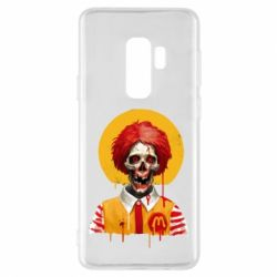 Чохол для Samsung S9+ Clown McDonald's skeleton