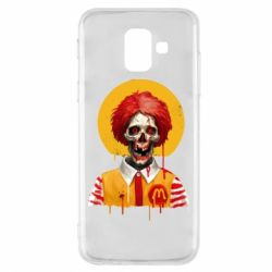 Чохол для Samsung A6 2018 Clown McDonald's skeleton
