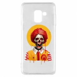 Чохол для Samsung A8 2018 Clown McDonald's skeleton