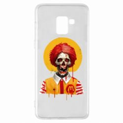 Чохол для Samsung A8+ 2018 Clown McDonald's skeleton