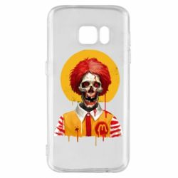 Чохол для Samsung S7 Clown McDonald's skeleton