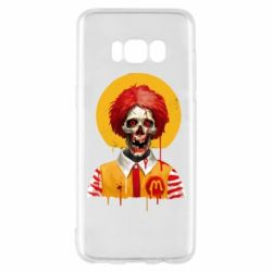 Чохол для Samsung S8 Clown McDonald's skeleton