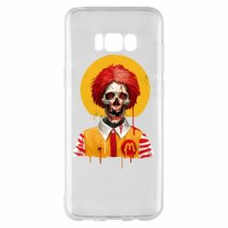 Чохол для Samsung S8+ Clown McDonald's skeleton